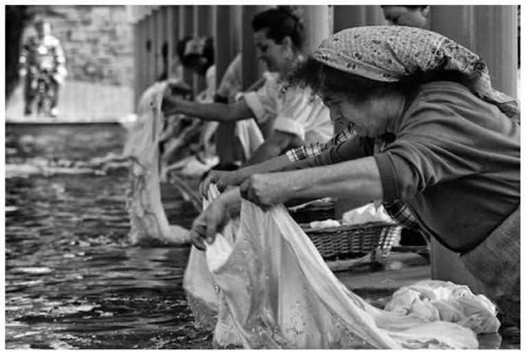 lavaggio e sistemazione tende